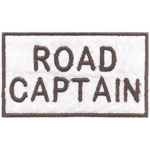 Aufnäher - Road Captain - 03225 - Gr. ca. 7 x 4 cm - Patches Stick Applikation