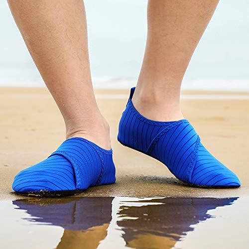 APTRO Herren Aquaschuhe Badeschuhe Unisex Strandschuhe f/ür Yoga Wassersport