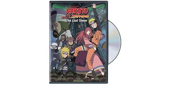 Amazon.com: Naruto Shippuden: The Movie - The Lost Tower ...