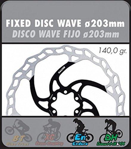 DBF004W 203mm Galfer Wave disc brake rotor