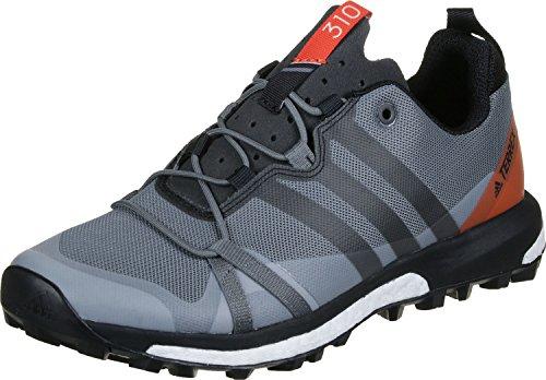 Adidas Terrex Agravic, Scarpe da Escursionismo Uomo, Grigio (Grivis/Negbas/Energi), 42 EU