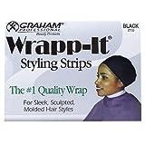 Kyпить Graham Professional Beauty Wrapp-It Black Styling Strips на Amazon.com
