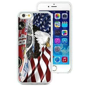 Jimmie Johnson Nascar White Best Sale Fantastic iPhone 6 4.7 Inch TPU Cover Case