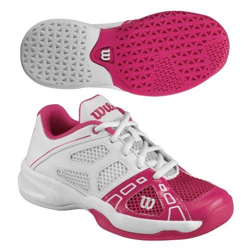 Wilson Rush Pro Junior - Zapatillas De Tenis de material sintético infantil Rosa (Pink)