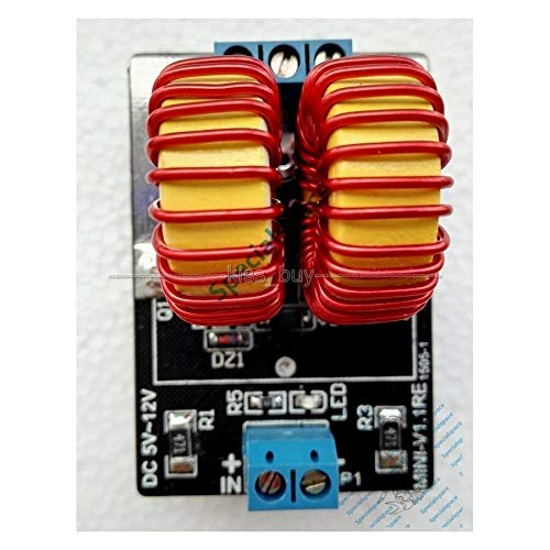 FidgetKute 5 v-12v ZVS Induction Heating Power Supply Module Tesla Jacob's Ladder Show One Size
