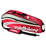 Abrasion-proof Nylon Badminton Equipment Bag Badminton Racket Bag RED