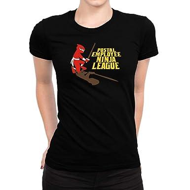 Amazon.com: Idakoos Postal Employee Ninja League Women T ...