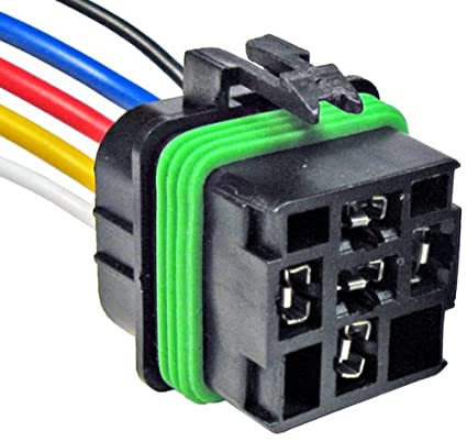 amazon com pico 5667pt gm relay five lead wiring pigtail auto rh amazon com