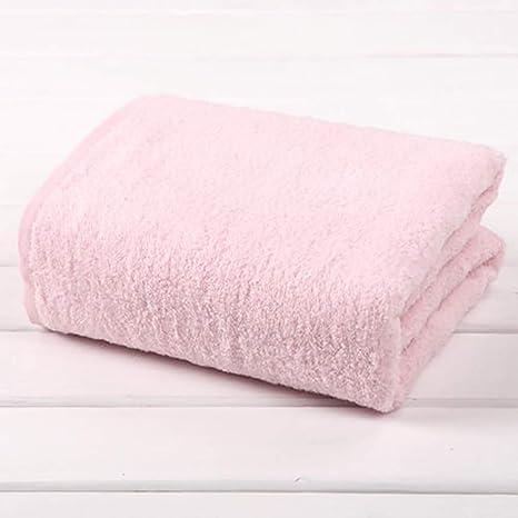 D&F Toalla de baño de algodón Suave y cómoda Gruesa, súper Absorbente, rápidamente Seca