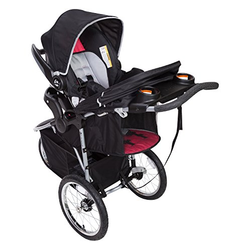 Baby Trend Pathway 35 Jogger Stroller, Optic Pink by Baby Trend (Image #1)