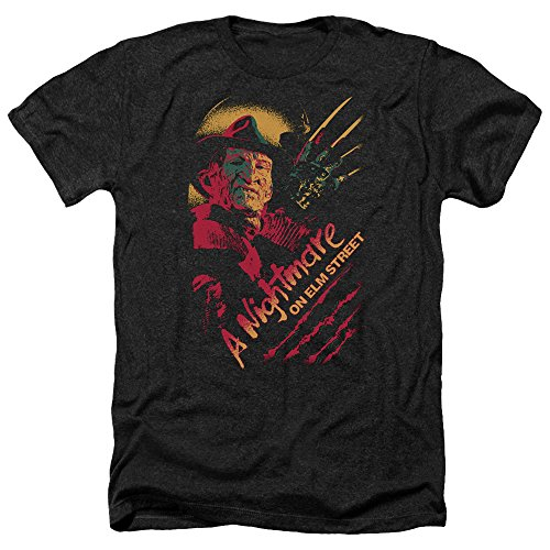 On Elm hombre Men de Freddy For Nightmare Black Claws Street Camiseta ZRgZqd