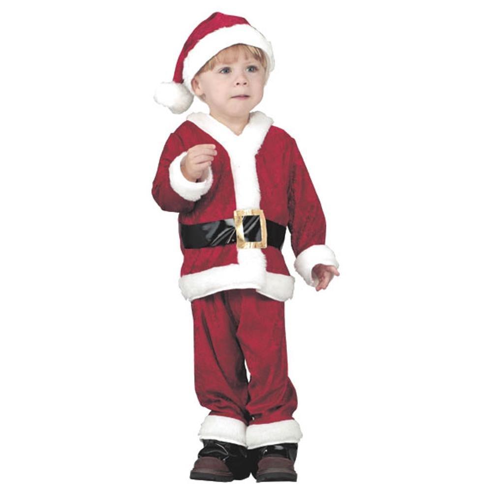 sc 1 st  Amazon.com & Amazon.com: Childu0027s Santa Claus Halloween Costume (2-4T): Toys u0026 Games