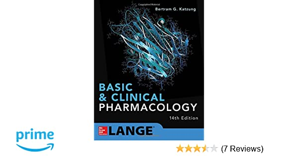 Basic and clinical pharmacology 14th edition 9781259641152 basic and clinical pharmacology 14th edition 9781259641152 medicine health science books amazon fandeluxe Choice Image
