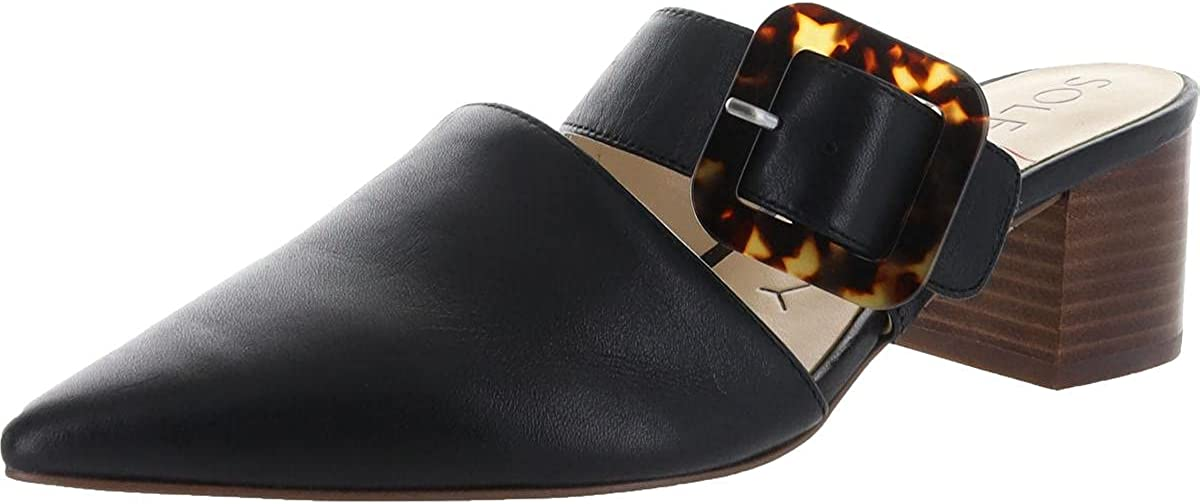 Sole Society Women's Department store Karelle Buckle Strap Point Mule with 40% OFF Cheap Sale 2