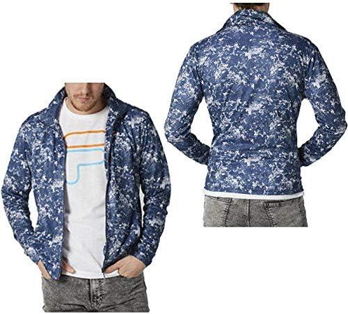 Amazon フィラ Fila Peメッシュ スタンドジャケット 410 338 メンズ ネイビー Nv llサイズ コート ジャケット 通販
