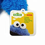 Gund Sesame Street Cookie Monster Take Along Stuffed Animal