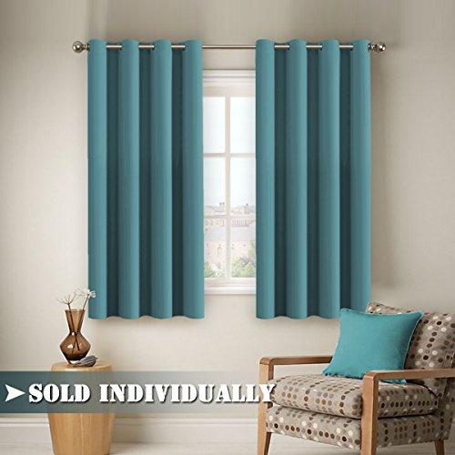 Flamingo P Room DarkeningCurtains Panels For Bedroom   Ultra Soft  Microfiber Noise Reducing Thermal Insulated Solid Grommet Window Drapes (1  Panel, ...