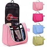 PETRICE Toiletry Bag Travel Organizer Cosmetic Bags Makeup Bag Toiletry Kit Travel Bag Travel Toiletry Bag Unisex Dark (Color May Vary) 1 Pcs