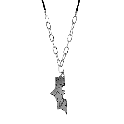 Sarah bat man pendant necklace for men silver amazon jewellery sarah bat man pendant necklace for men silver aloadofball Images