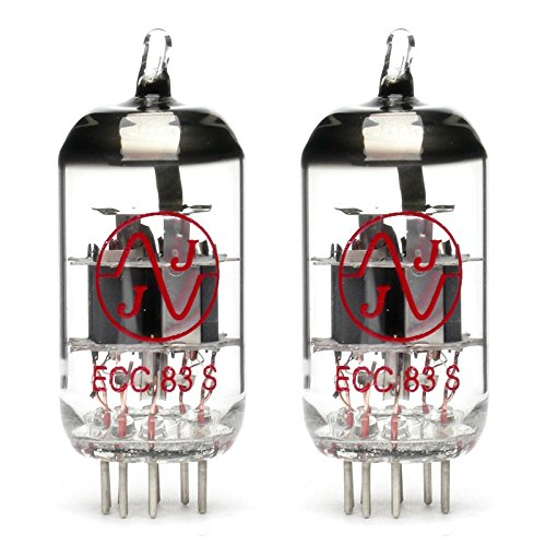 Pair of JJ ECC83s/12AX7 Preamp Vacuum Tube by TubeDepot