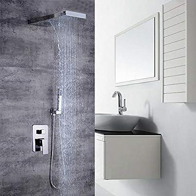 Sistema de ducha, kit de ducha empotrado con ducha de cabeza con ...