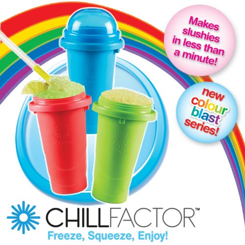 Chill Factor Squeeze Cup Slushy Maker - Colour Blast