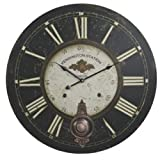 Kensington Railway Station Extra Large Wall Clock - 23-in