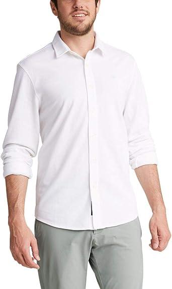 Dockers Camisa de manga larga 360 Ultimate con botones para hombre
