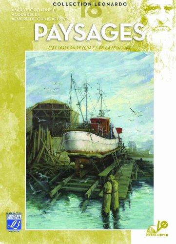 Lefranc Bourgeois Léonardo n°18 Album d'étude Paysage techniques variées