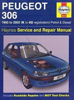 peugeot 306 petrol diesel 93 02 haynes repair manual 1993 to rh amazon co uk Peugeot 306 Karavan Peugeot 306 Problems