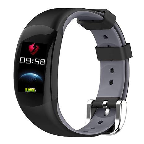 HECHEN Pulsera De Deportes, Bluetooth 4.0 App Deportes Reloj Inteligente Pulsera Monitor De Sueño Podómetro