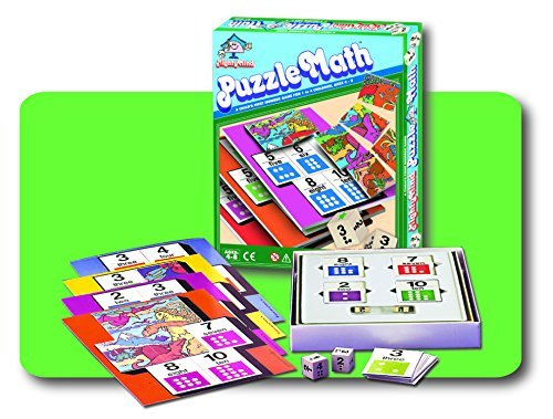 Leisure Learning Mighty Mind Puzzle Math Ages 4-8 (1- 4 Children) (#40500)
