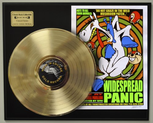 Widespread Panic Limited Edition LP Record Display. Only 500 made. Limited quanities. FREE US SHIPPING