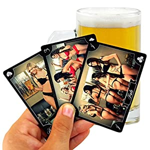 Kings Deck – The Kings Cup Drinking Game with Hot Chicks (Best Adult Party Game)