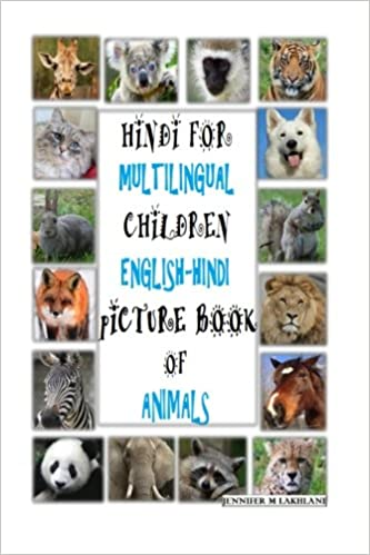 Buy Hindi for Multilingual Children: Picture Book of Animals