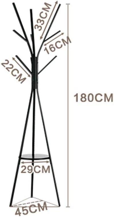 XCDES 床立ち帽子とコートコートラック服帽子ツリーフロアコートラックハンガー金属支店ホームクリエイティブコートラック (色 : Style B)