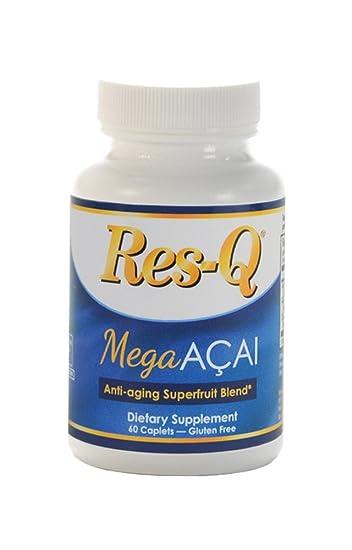 Amazon com: Res-Q Mega Acai Superfruit Blend, 60 caplets: Health