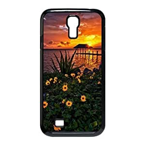 ALICASE Sunset Diy Case Shell Cover For Samsung Galaxy S4 i9500 [Pattern-1]
