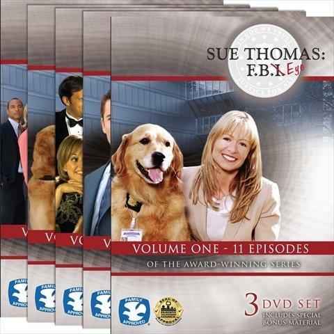 Harris Communications DVD440 Sue Thomas - F.B.Eye Volumes 1-5 DVD Set