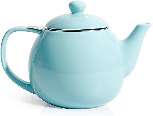 Amazon.com: Sweese - Tetera de porcelana con infusor de té y ...