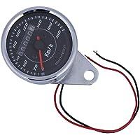 Odómetro Velocímetro Doble Pantalla, Cuentakilómetros universal de la
