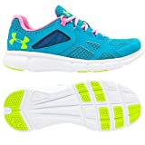 Under Armour Women's Mesh Thrill Running Shoes 2.5 UK Pacific Blue/Pink/Yellow