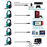BUTFULAKE Stereo Gaming Headset for PS4, Xbox