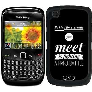 Funda para Blackberry Curve 8520/8530/9300/9330 - Ser Amable Para Todos Los Que Conoces by wamdesign