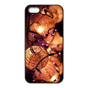 The Beautiful Holiday Lamp Hight Quality Plastic Case for Iphone 5s