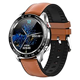 Smart Watch for Android Phones, Smartwatch with Heart Rate and Blood Pressure Monitor for Men, Fitness Watch with…