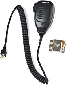 TWAYRDIO KMC-35 Standard Dynamic Mobile Radio Microphone (RJ45) Replacement Handheld Speaker MIC for Kenwood NX700 NX800 TK8180 TK7180 TK7360 TK8160