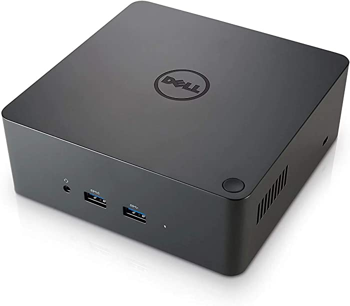 Dell TB16 Thunderbolt 3 (USB-C) Docking Station with 180W Adapter, Black, Model:452-BCNP