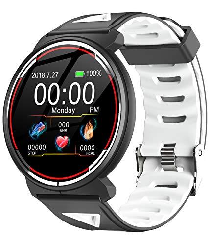 Smart Watch Sleep Monitor Heart Rate Monitor Calorie Counter Bluetooth Activity Sport Wrist Watch Fitness - Phone Watch Inch 1.33