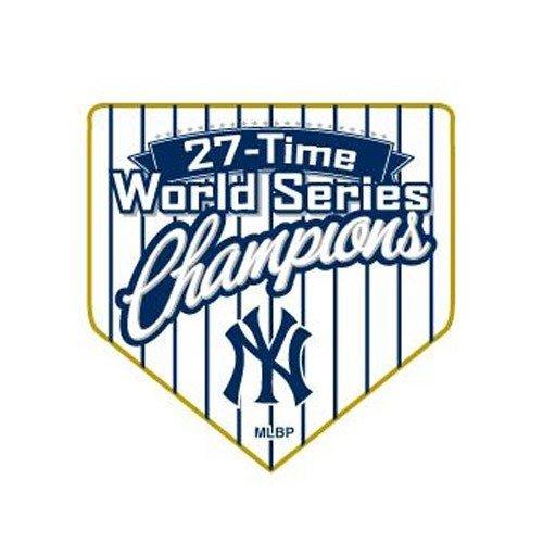New York Yankees 2009 World Series Champions 27-Time Champs Collector's Pin () 2009 Yankees World Series